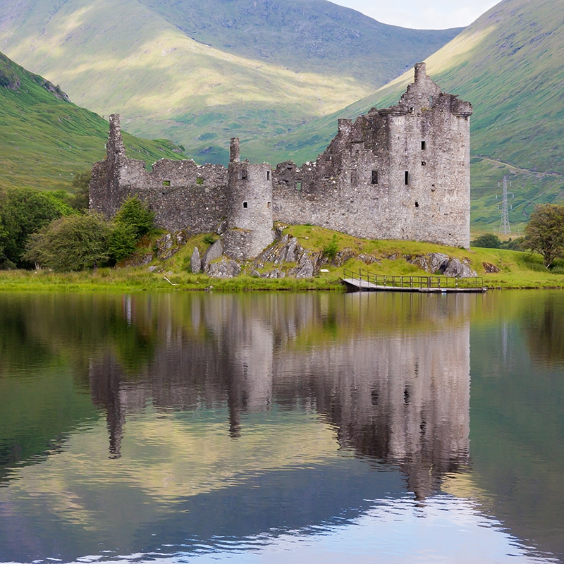 kilchoarn-castle on highland lochs and castles tour