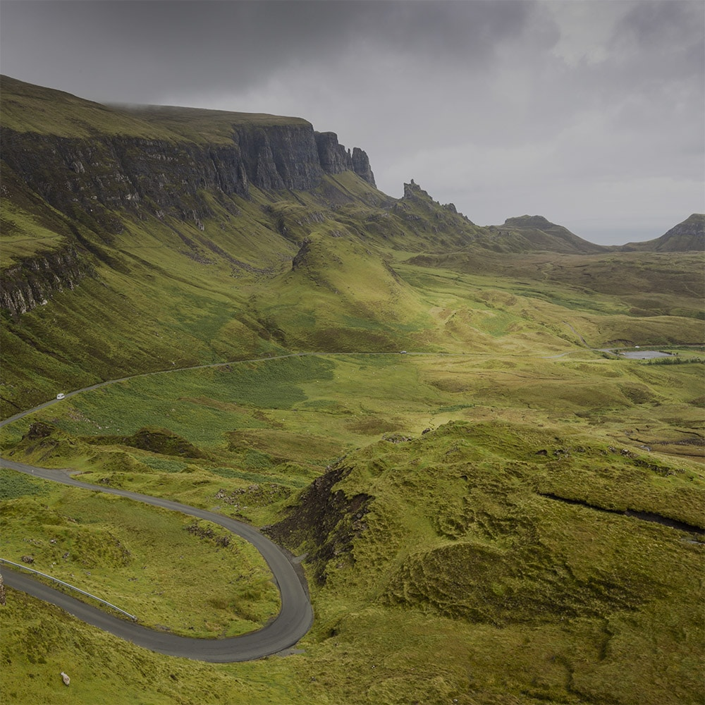 The Quiraing Isle of Skye highland tour