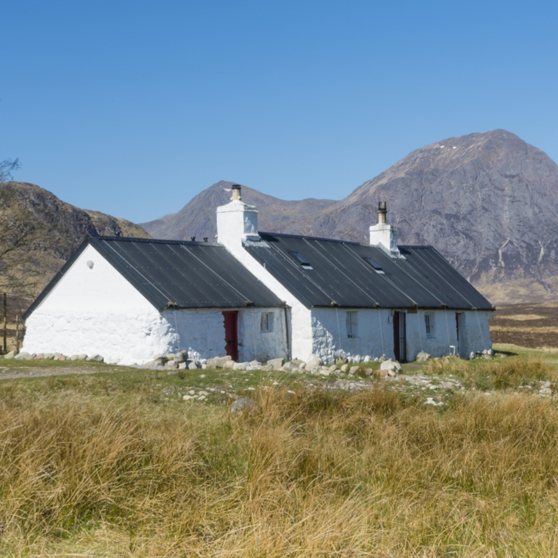 Blackrock cottage on glencoe highland tour