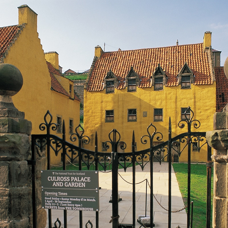 Culross Palace in Fife on outlander tour