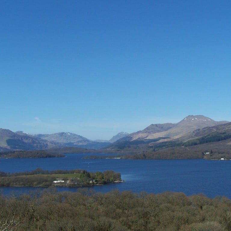 loch lomond and ben lomond on highland day tour from edinburgh